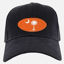 SC Palmetto Moon State Flag Orange Baseball Hat