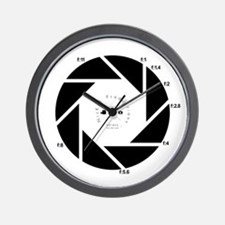 Cool Nickel Wall Clock