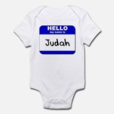hello my name is judah  Onesie