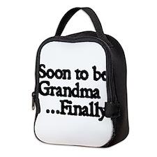 Soon to be Grandma...Finally Neoprene Lunch Bag