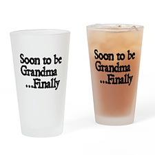 Soon to be Grandma...Finally Drinking Glass