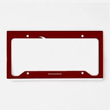 SC Palmetto Moon State Flag Garnet License Plate H