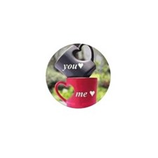 You/me his/hers Mini Button