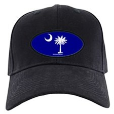 SC Palmetto Moon State Flag Blue Baseball Hat