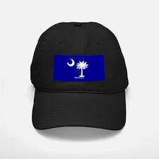 SC Palmetto Moon State Flag Blue Baseball Hat