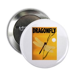 Graphic Dragonfly Button