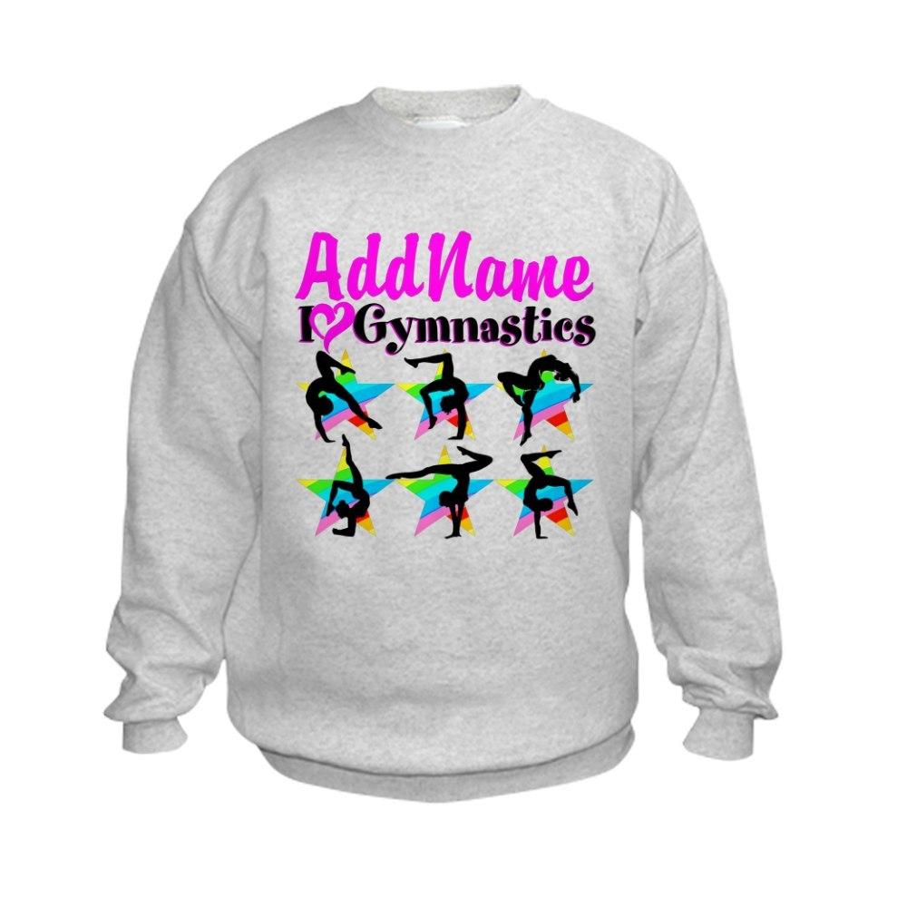 CafePress AWESOME GYMNAST Kids Sweatshirt