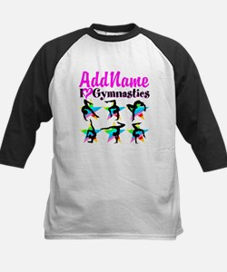 AWESOME GYMNAST Kids Baseball Jersey