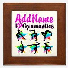 AWESOME GYMNAST Framed Tile