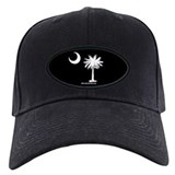 South carolina state flag Baseball Cap with Patch