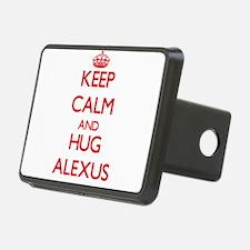 Keep Calm and Hug Alexus Hitch Cover