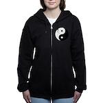 Yin Yang Women's Zip Hoodie