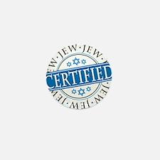 Certified Jew Mini Button