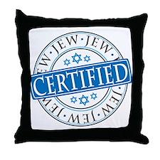 Certified Jew Throw Pillow