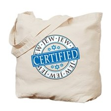 Certified Jew Tote Bag