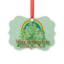 Happy Holidays From Washington St Ornament