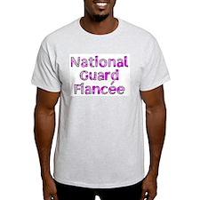 National Guard Fiancée Pink C T-Shirt