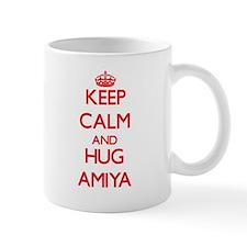 Keep Calm and Hug Amiya Mugs