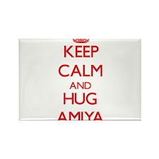 Keep Calm and Hug Amiya Magnets