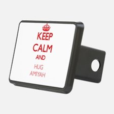 Keep Calm and Hug Amiyah Hitch Cover