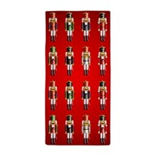 Nutty Nutcrackers Beach Towel