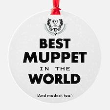 Best 2 Muppet copy Ornament