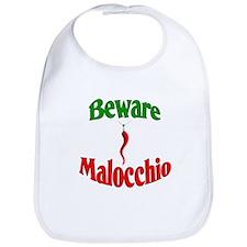Beware Malocchio Bib