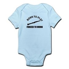 Born to play the clarinet Infant Bodysuit