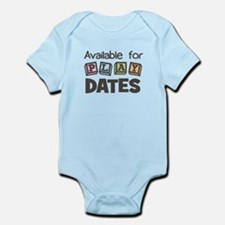 Available for Play Dates Infant Bodysuit