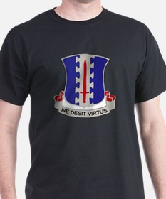 DUI - 3rd Battalion - 187th Infantry Regiment T-Shirt