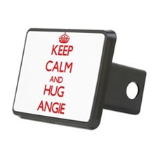 Keep Calm and Hug Angie Hitch Cover