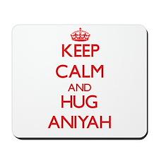 Keep Calm and Hug Aniyah Mousepad