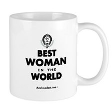 The Best in the World Best Woman Mugs