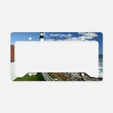 Lighthouse, Portland, Maine License Plate Holder
