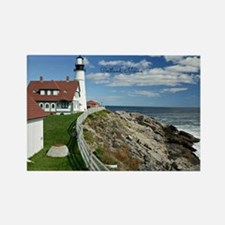 Lighthouse, Portland, Maine Rectangle Magnet