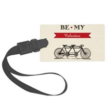 Tandem Bicycle - Valentine's Day Luggage Tag