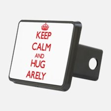 Keep Calm and Hug Arely Hitch Cover