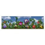 Cuddles by the fence Sticker (Bumper 50 pk)
