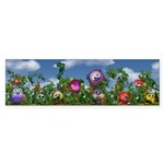 Cuddles by the fence Sticker (Bumper 10 pk)