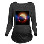 Solar Eclipse Long Sleeve Maternity T-Shirt
