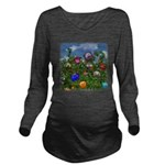 Cuddles by the fence Long Sleeve Maternity T-Shirt