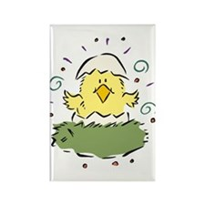 Just Hatched Easter Chick Rectangle Magnet