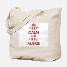 Keep Calm and Hug Aubrie Tote Bag