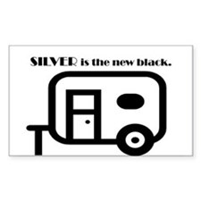 Silver is the new Black Decal