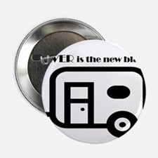 """Silver is the new Black 2.25"""" Button"""