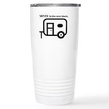 Silver is the new Black Travel Mug