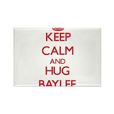 Keep Calm and Hug Baylee Magnets