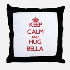 Keep Calm and Hug Bella Throw Pillow