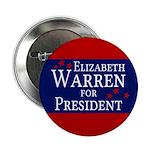 Elizabeth Warren For President Political Button