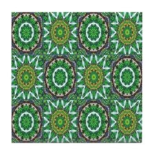 Green Quilt Tile